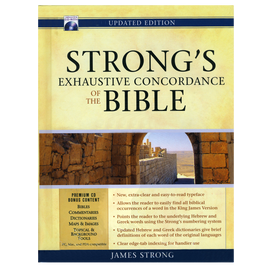Strong's Exhaustive Concordance - Updated Edition KJV