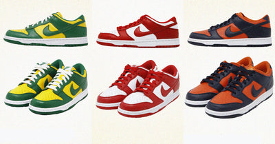 "Back to the Roots - Nike Dunk Low SP ""Team Tones Pack"""