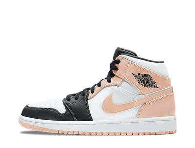 "Air Jordan 1 Mid ""Crimson Tint Toe"" SYRUP"