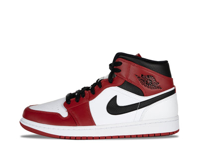 "Air Jordan 1 Mid Chicago ""White"" SYRUP"