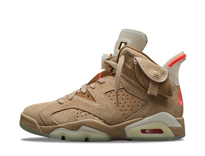 "Air Jordan 6 Retro Travis Scott ""British Khaki"" SYRUP"