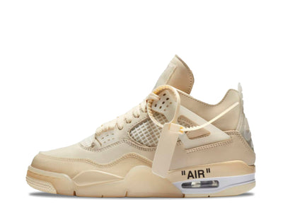 "NIKE X OFF-WHITE AIR JORDAN 4 ""SAIL"" SYRUP"