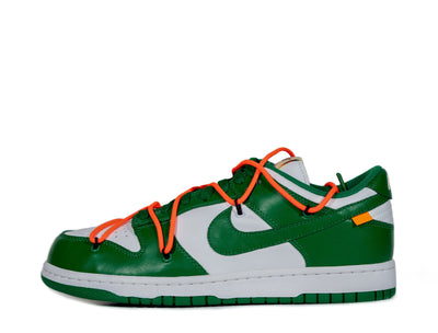 "Nike x Off-White Dunk Low ""Pine Green"" SYRUP"