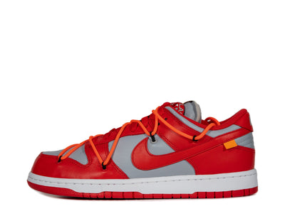 "Nike x Off-White Dunk Low ""University Red"" SYRUP"