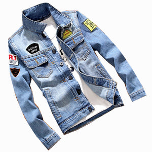 NEW Men's Denim Jacket
