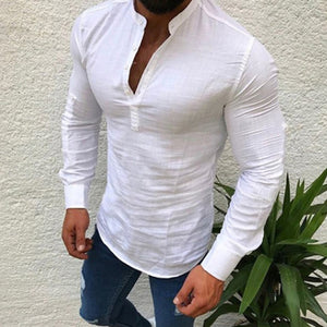 Cotton Linen Shirt