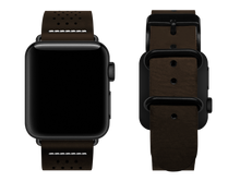 Load image into Gallery viewer, brown dotted custom apple watch strap