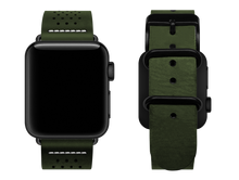 Load image into Gallery viewer, green dotted custom apple watch strap