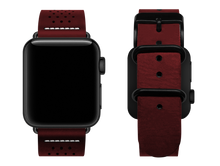 Load image into Gallery viewer, red dotted custom apple watch strap