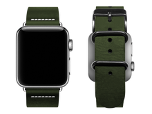 Load image into Gallery viewer, simple green custom apple watch band