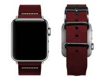 Load image into Gallery viewer, simple red custom apple watch band