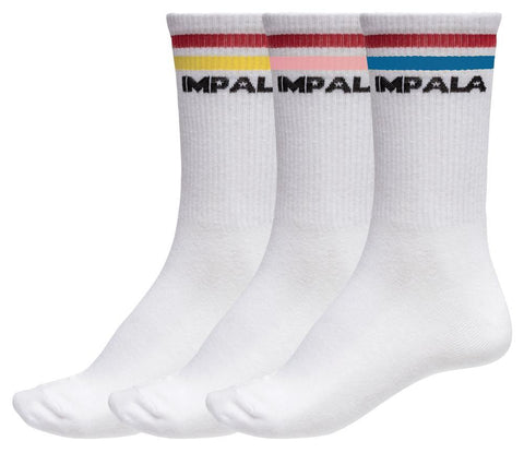 Stripe sock 3pk