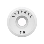 Eternal Wheels 58mm (100A) V-Cut White (4pk)