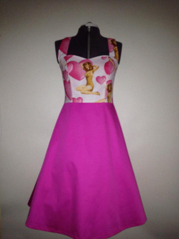 Pink Pinup Dress 14
