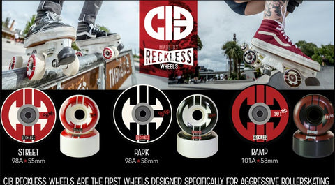 Reckless Wheels CiB Range