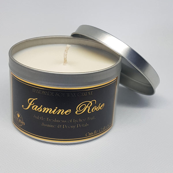 Handmade Soy Wax Candle Jasmine Rose-Candle-Celtic Beard