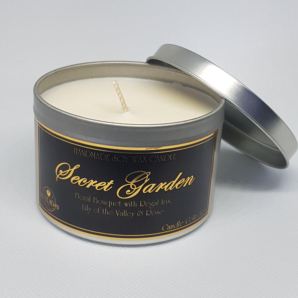Handmade Soy Wax Candle Secret Garden-Candle-Celtic Beard