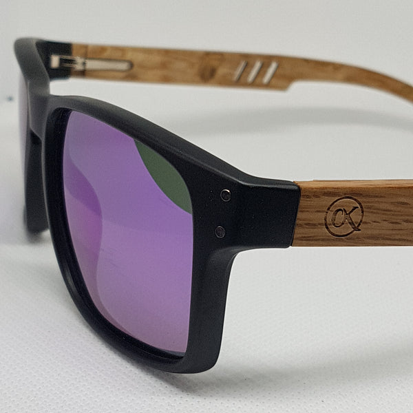 ORAKLE Sunglasses - Wide Purple - Celtic Beard