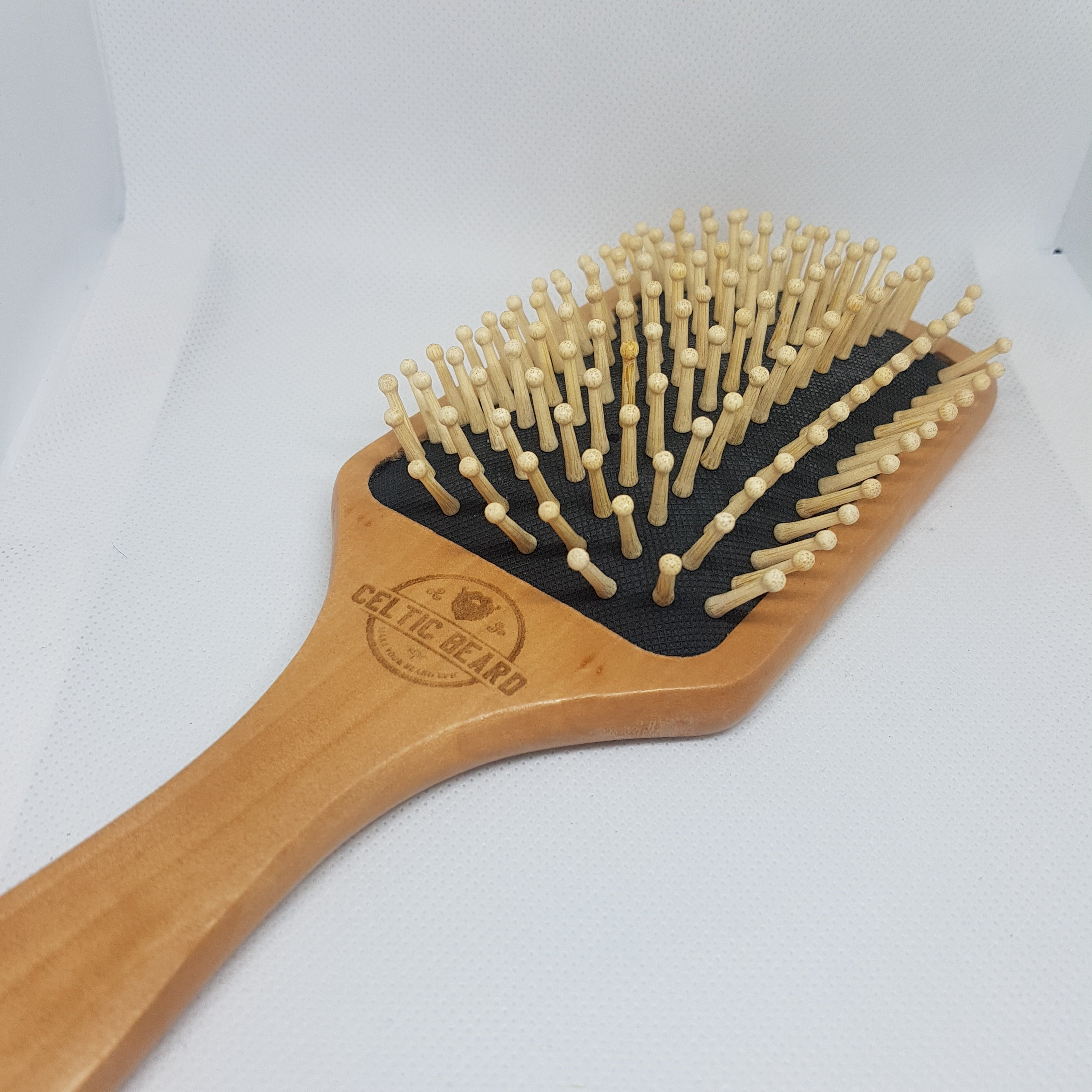 Wooden Bristle Air Bag Brush-Beard Brush-Celtic Beard