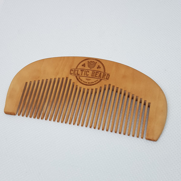 Wooden Beard Comb-Beard Comb-Celtic Beard