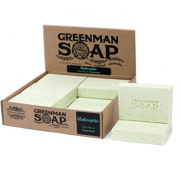 Antiseptic Soap - Tea Tree & Peppermint-Soap-Celtic Beard