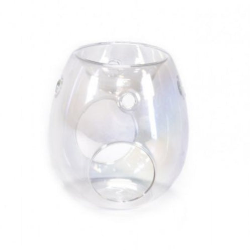 Oil & Wax Burner - Pearl Clear-Wax Burner-Celtic Beard