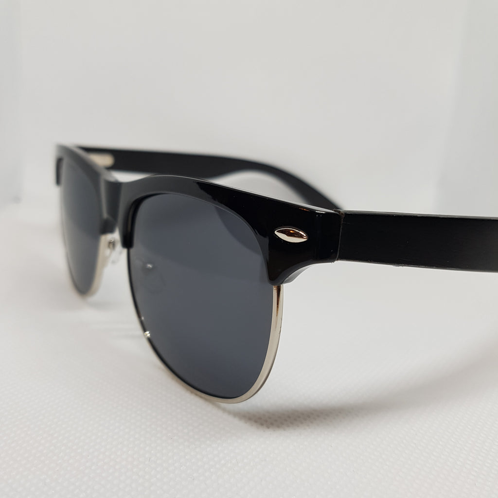 ORAKLE Sunglasses - Black & Chrome-Sunglasses-Celtic Beard