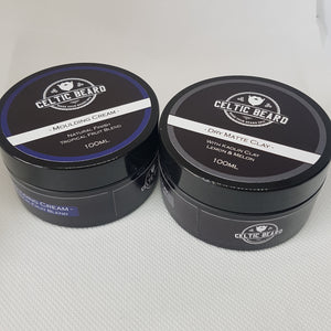 Moulding Cream - Hair Styling-Hair Cream-Celtic Beard
