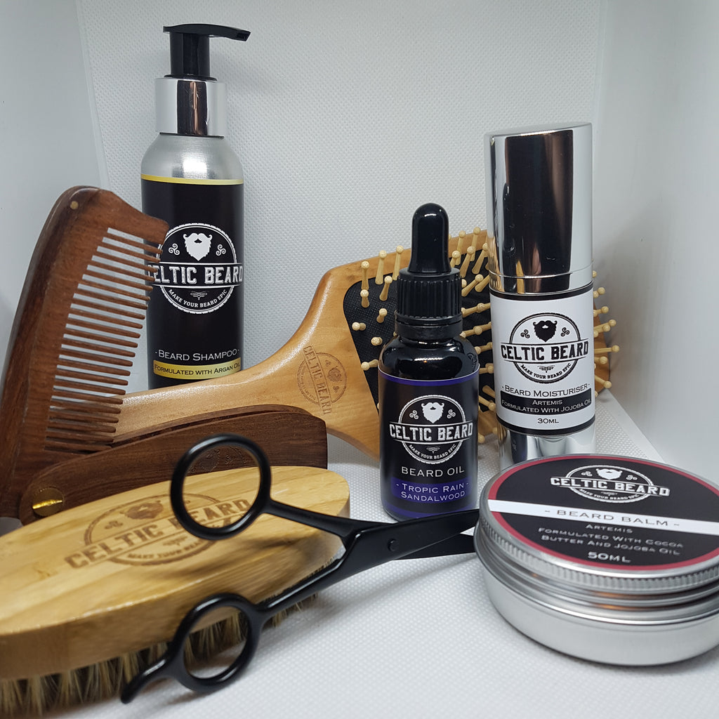 Complete Set-Beard Set-Celtic Beard