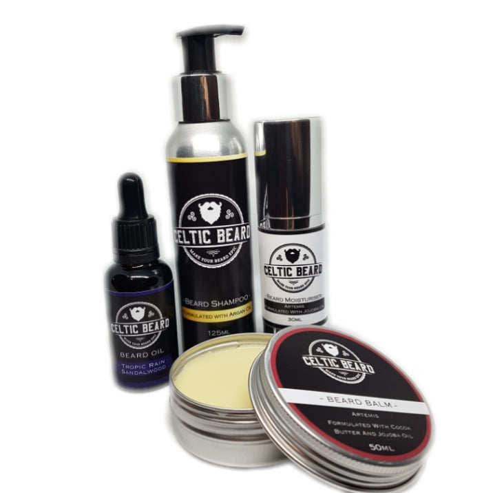 "Beard ""Wash and Go"" Set-Beard Set-Celtic Beard"