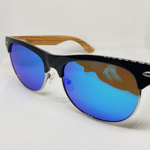 ORAKLE Sunglasses - Blue & Chrome-Sunglasses-Celtic Beard
