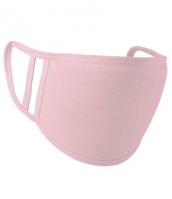 Face Covering Baby Pink - 2 Size in 1-face covering-Celtic Beard