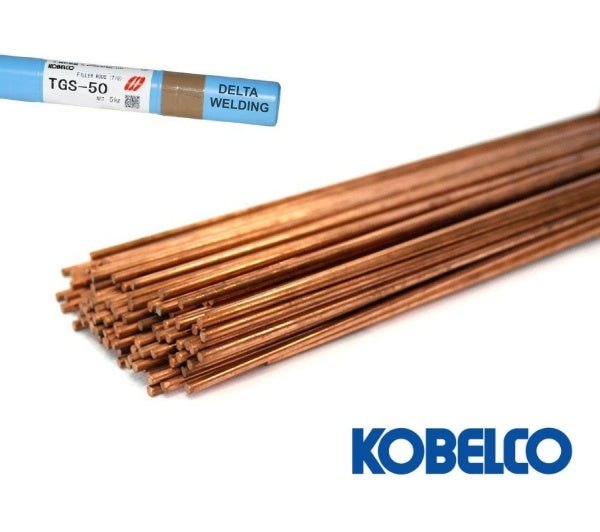 KOBELCO TGS50 TIG ROD, Sizes :  1.6mm, 2.0mm, 2.4mm - Aikchinhin