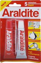 Load image into Gallery viewer, Araldite Red Rapid 5 minutes High performance Epoxy Adhesive | Model : ARALDITE-RED - Aikchinhin