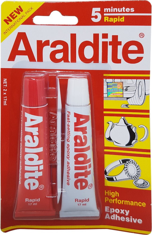 Araldite Red Rapid 5 minutes High performance Epoxy Adhesive | Model : ARALDITE-RED - Aikchinhin