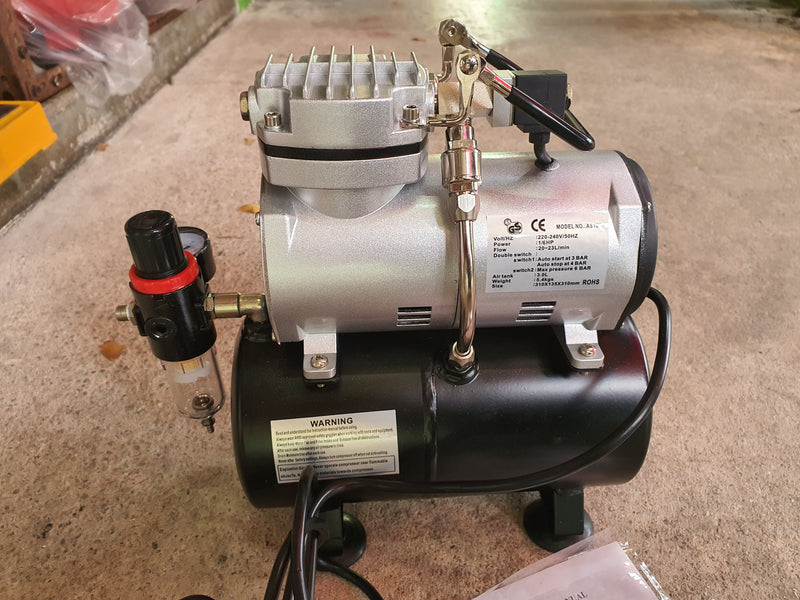 HYMAIR mini 1/5HP Air Compressor with tank | Model : AS189