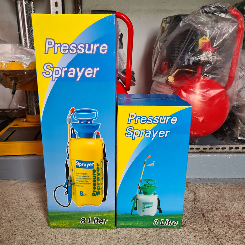 Aiko High Pressure Spray Can | Sizes : 3L (SPRAYER-C081-3) ,5L (SPRAYER-C081), 8L (SPRAYER-C082)
