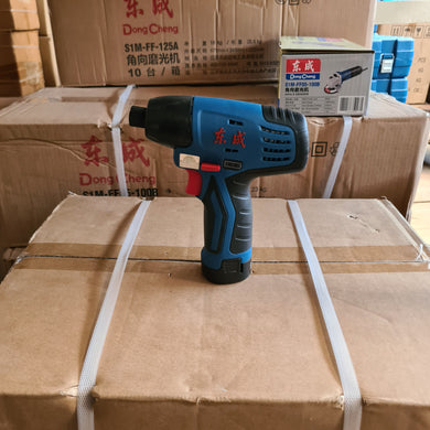 Dong Cheng 12V Double Cordless Drill Set | Model : D-DCKIT01