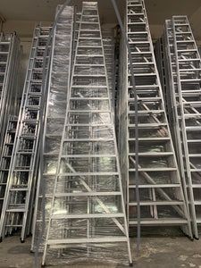 Heavy Duty Aluminium Ladder | Steps : 2 - 24 | Model : L-BB