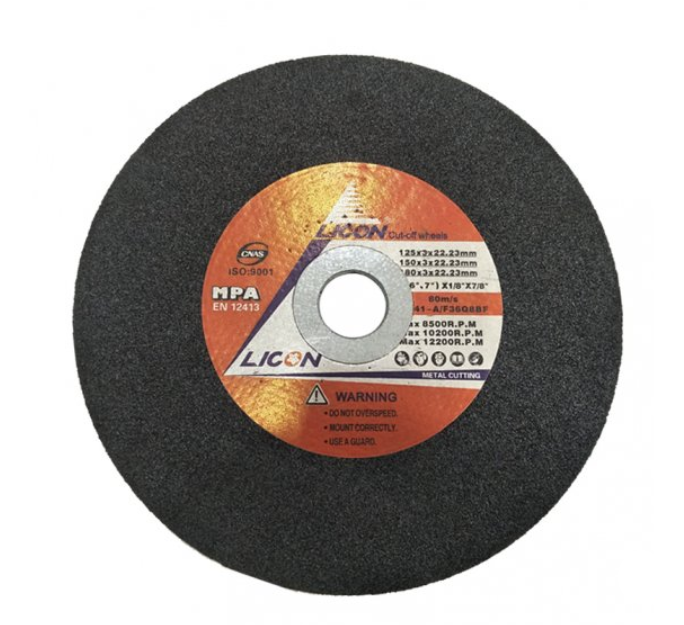 "Licon 7"" Cutting Disc - Aikchinhin"