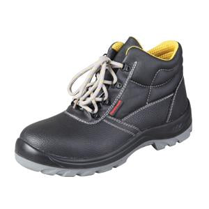 Honeywell Ankle Cut Laced Black Leather Safety Shoes | Model : 9542 ME, Sizes : #4 (38) - #12 (46) - Aikchinhin