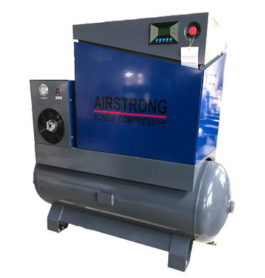 Airstrong 10HP Screw Compressor W/ASME | Model : A-KSAMTD10A