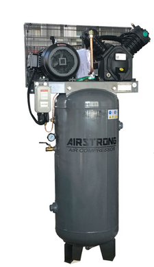 Airstrong Vert 5.5Hp 220L 415V 175PSI Air Compressor | Model : A-V55