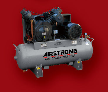 AIRSTRONG 5HP OIL-LESS AIR COMPRESSOR MODEL : H5NL WARRANTEE SIX MONTHS NO