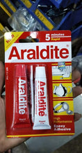 Load image into Gallery viewer, Araldite Red Rapid 5 minutes High performance Epoxy Adhesive | Model : ARALDITE-RED