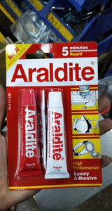 Araldite Red Rapid 5 minutes High performance Epoxy Adhesive | Model : ARALDITE-RED