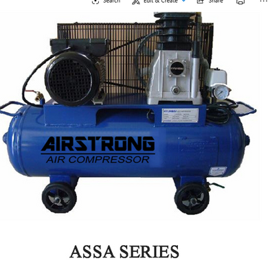 Airstrong 3Hp 100L 1Stage 3Phase 415V | Model : ASSA30-100T