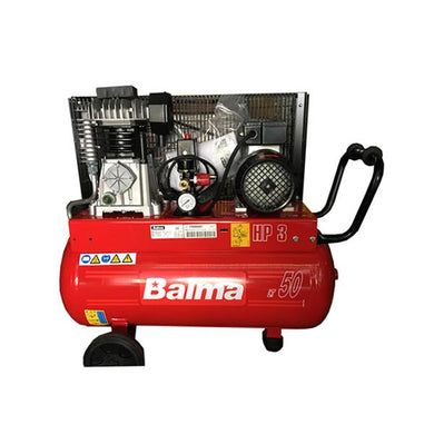 BALMA 3HP Belt Type Air Compressor | Sizes : 50L or 100L - Aikchinhin