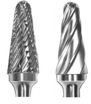 Mighty L1228 Solid Carbide Rotary Burrs | Model: BUR-L1228