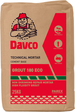 DAVCO GROUT 180-ECO 25KG | Model : GROUT-D180 - Aikchinhin